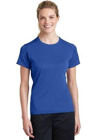 Sport Tek Ladies Dry Zone153 Raglan Accent T Shirt L473