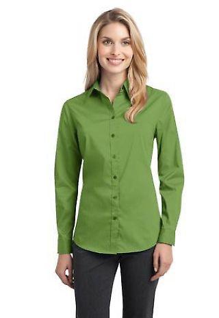 Port Authority L646    Ladies Stretch Poplin Shirt