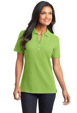 Cobalt Blue Polo Shirt Womens