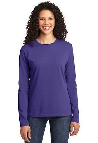 LPC54LS Port & Company® Ladies Long Sleeve 5.4-oz 100% Cotton T-Shirt