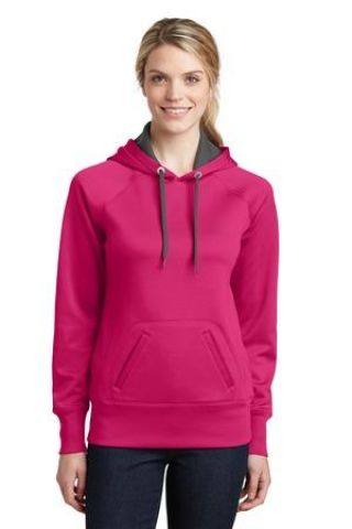 Sport Tek LST250 Sport-Tek Ladies Tech Fleece Hooded Sweatshirt