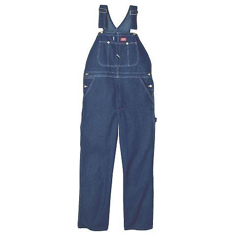 Dickies Workwear 8396SN Unisex Stonewashed Indigo Denim Bib Overall