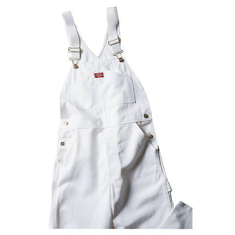 Dickies Workwear 8953WH Unisex Painters Bib Overall