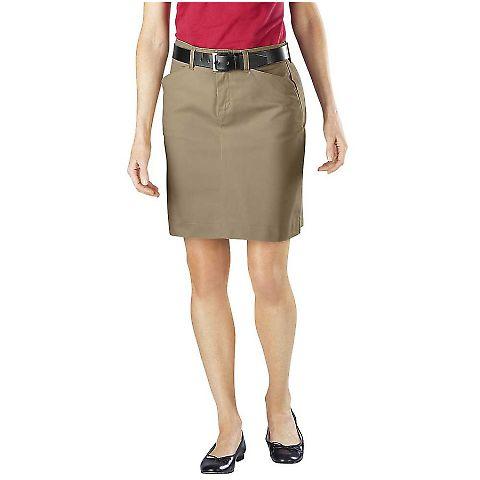 Dickies Workwear FK201 Ladies' Stretch Twill Skirt DESERT SAND