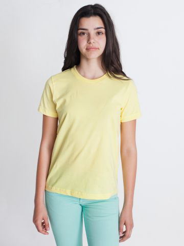 2201 American Apparel Unisex Youth Fine Jersey S/S Tee