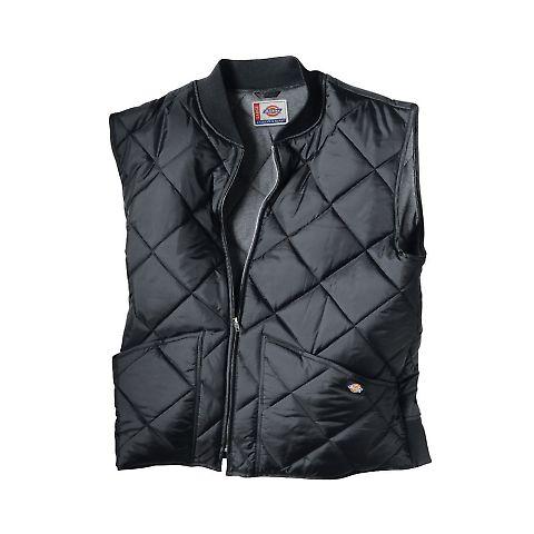Dickies Workwear TE242 Unisex Diamond Quilted Nylon Vest