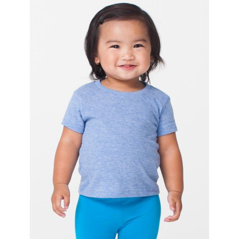 TR005 American Apparel Infant Tri-Blend Short Sleeve T-Shirt