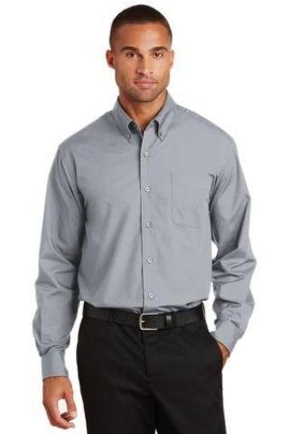 Port Authority Long Sleeve Value Poplin Shirt S632