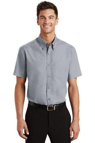 Port Authority Short Sleeve Value Poplin Shirt S633