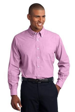 Port Authority Crosshatch Easy Care Shirt S640