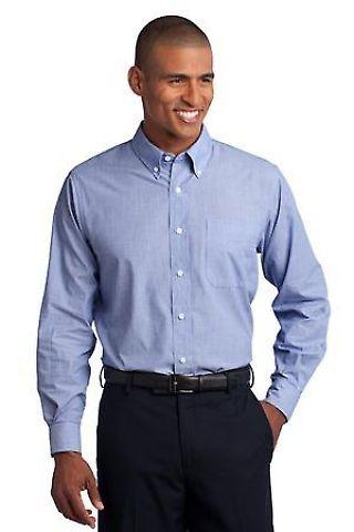 Port Authority TLS640    Tall Crosshatch Easy Care Shirt