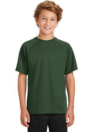 Sport Tek Youth Dry Zone153 Raglan T Shirt Y473