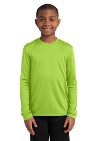 YST350LS Sport-Tek® Youth Long Sleeve Competitor™ Tee