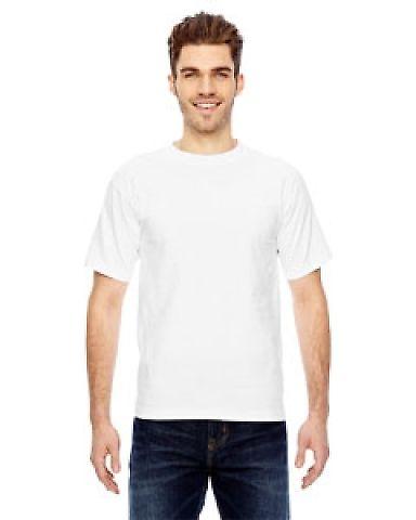 Bayside BA5100 Adult Adult Short-Sleeve Tee White