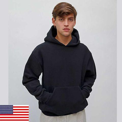 969 HF09LO Los Angeles Apparel HF09/Heavy Weight Hooded Pullover Sweatshirt