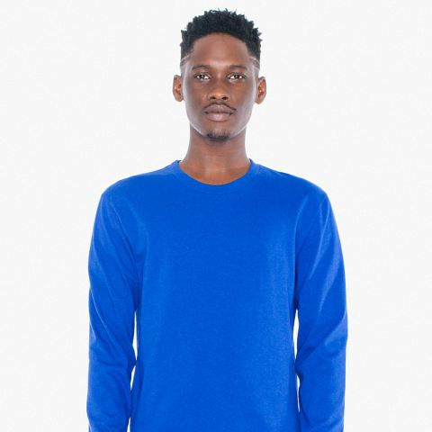 American Apparel HJ407/Hammer Long Sleeve T-Shirt Lapis (Discontinued)