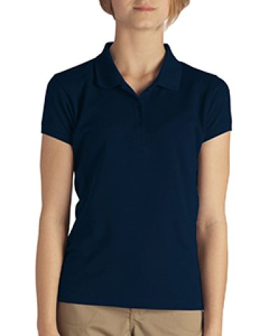 Dickies KS952 Girls' Short-Sleeve Performance Polo DARK NAVY