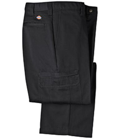 Dickies Workwear LP337 8.5 oz. Industrial Cotton Cargo Pant BLACK _28