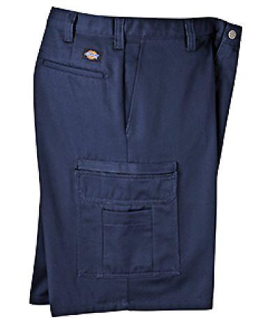 Dickies Workwear LR337 8.5 oz., 11 Industrial Cotton Cargo Short NAVY _50