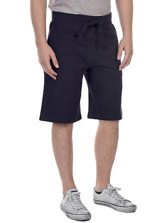 M7640 Cotton Heritage Fleece Rib Jogger Shorts