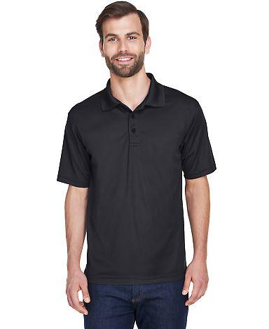 8210 UltraClub® Men's Cool & Dry Mesh Piqué Polo BLACK
