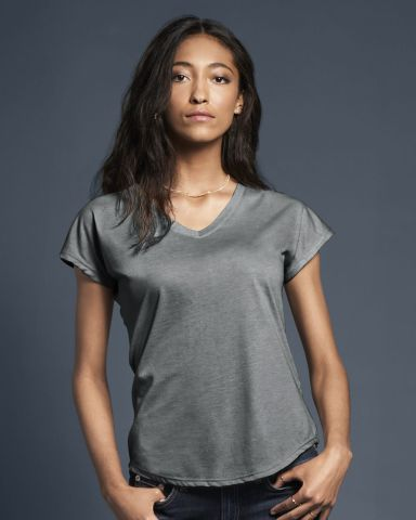 6750VL Anvil - Ladies' Triblend V-Neck T-Shirt  Catalog