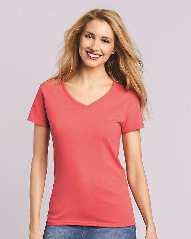 5V00L Gildan Heavy Cotton™ Ladies' V-Neck T-Shirt Catalog