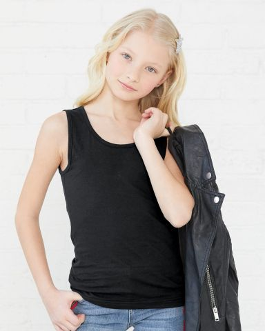 2690 LA T Girls' Fine Jersey Tank Catalog