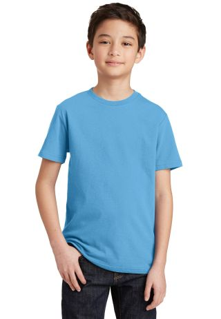 DT5000Y District® Youth The Concert Tee Aquatic Blue