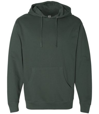 SS4500 Independent Trading Co. Midweight Hooded Sw Alpine Green