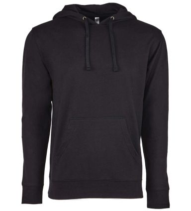 Next Level 9301 Unisex French Terry Pullover Hoody BLACK/ BLACK