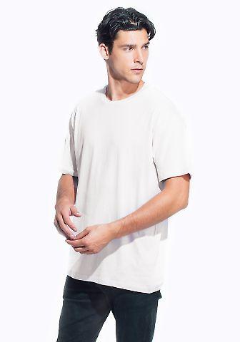 M1045 Crew Neck Men's Jersey T-Shirt  White