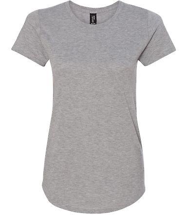 6750L Anvil Ladies' Triblend Scoop Neck T-Shirt HEATHER GREY