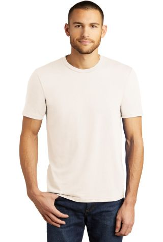 DM130 District Made Mens Perfect Tri-Blend Crew Te Natural