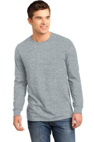 District DT5200 Young Mens The Concert Tee Long Sleeve Catalog