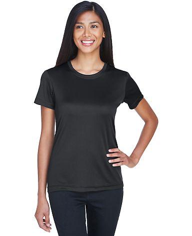 UltraClub 8620L Ladies' Cool & Dry Basic Performa BLACK