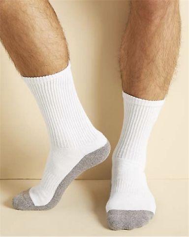 Gildan GP751 Platinum Crew Socks (White) Catalog