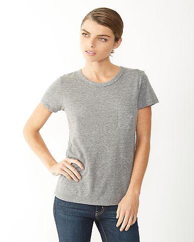 01978E1 Alternative Ladies' Pocket Ideal T-Shirt ECO GREY