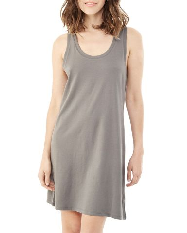 02836MR Alternative Ladies' Effortless Tank Dress NICKEL