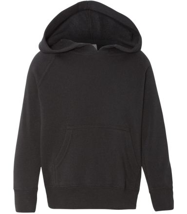 Independent Trading Co. PRM10TSB Toddler Hoodie Black