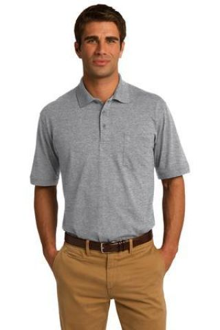 Port & Company KP55P Jersey Knit Pocket Polo Catalog