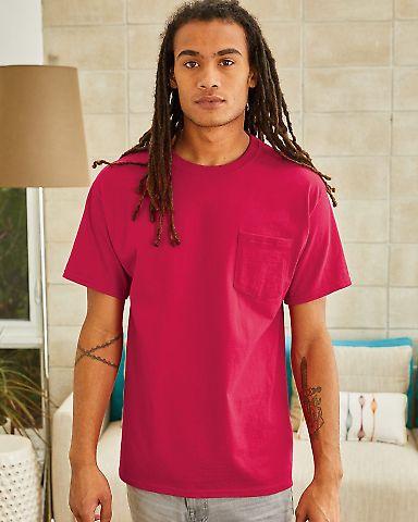 5590 Hanes® Pocket Tagless 6.1 T-shirt - 5590  Catalog