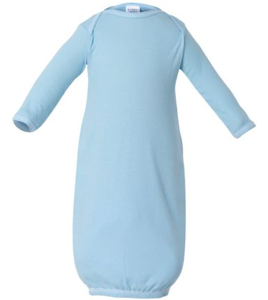 4406 Rabbit Skins Infant Baby Rib Lap Shoulder Lay Light Blue