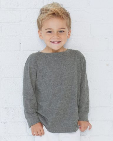 RS3302 Rabbit Skins Toddler Fine Jersey Long Sleeve T-Shirt Catalog