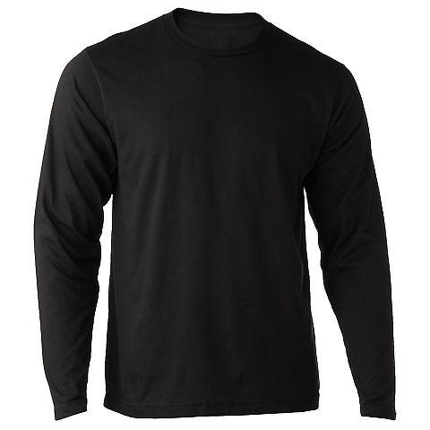 0242TC Tultex 242 / Unisex Poly-Rich Blend Long Sl Black