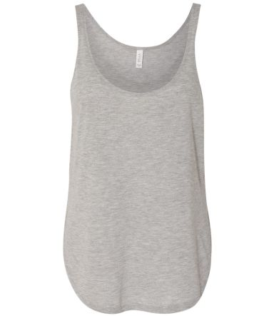 8802 Bella + Canvas - Women's Flowy Tank with Side ATHLETIC HEATHER