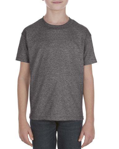 Alstyle 3981 Youth Tee Charcoal Heather