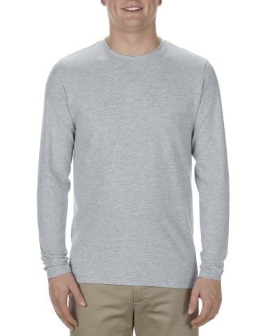 5304 Alstyle Adult Long Sleeve T-shirt Athletic Heather