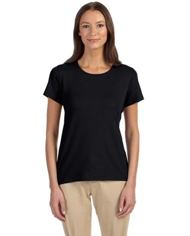 DP182W Devon & Jones Ladies' Perfect Fit™ Shell  BLACK