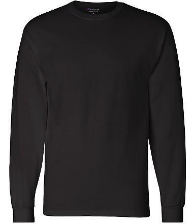 CC8C Champion Logo Long-Sleeve Tagless Tee Black